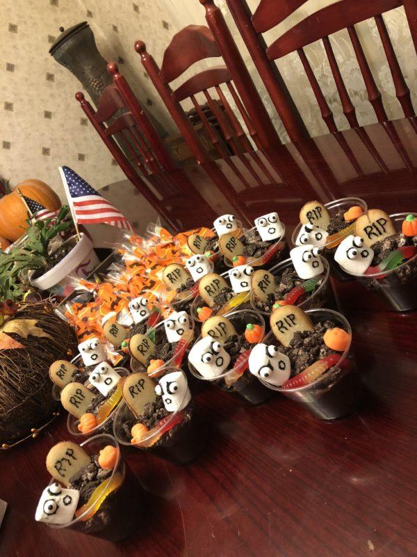 Halloween themed children treats
