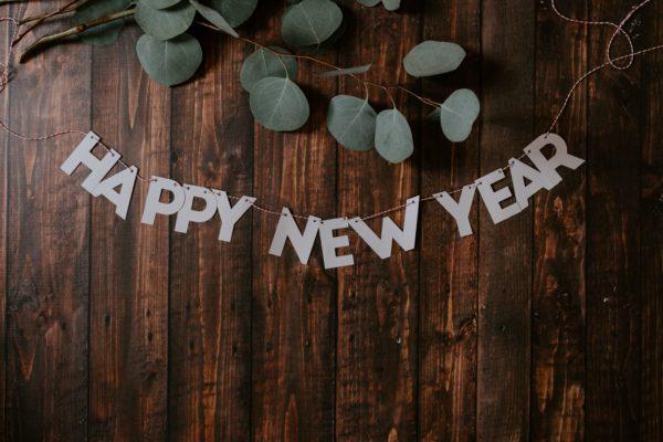 A Happy New Year decor