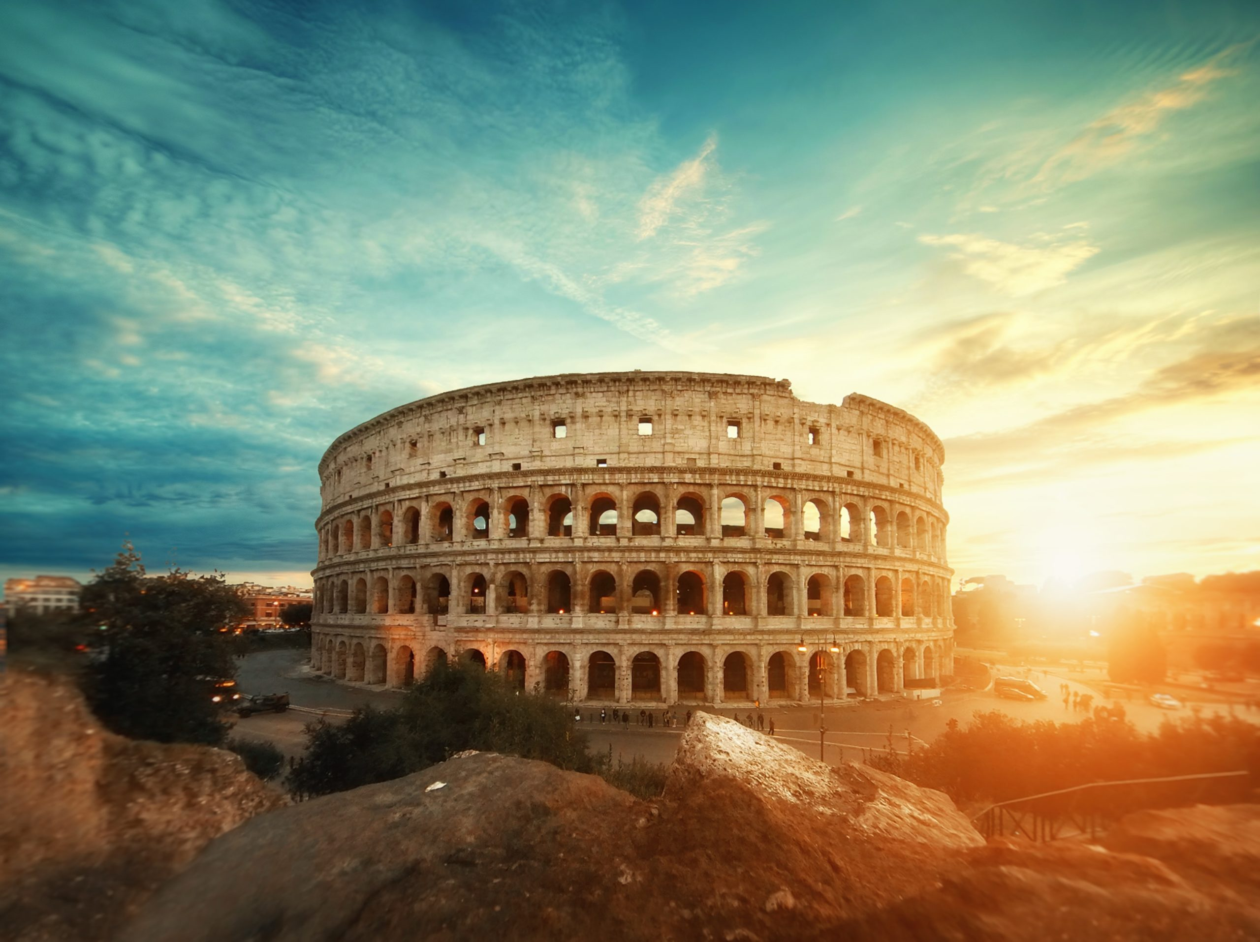 Picture of the grand Colosseum