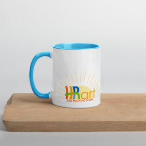 HRart Rise Morning Show Mug
