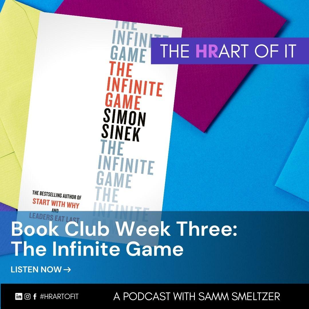 Book Club Week Three: The Infinite Game by Simon Sinek