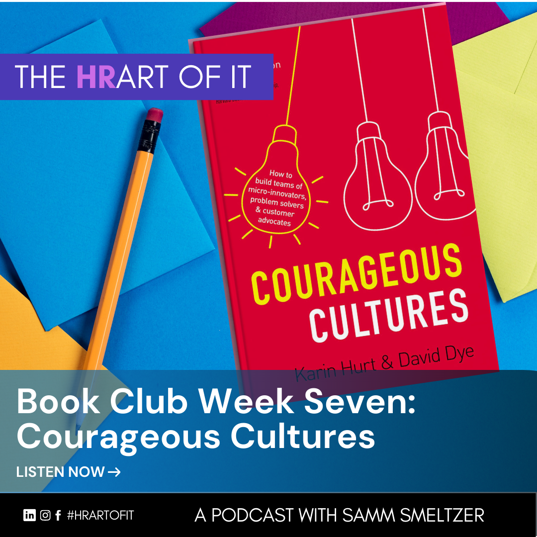 Book Club Week Seven: Courageous Cultures