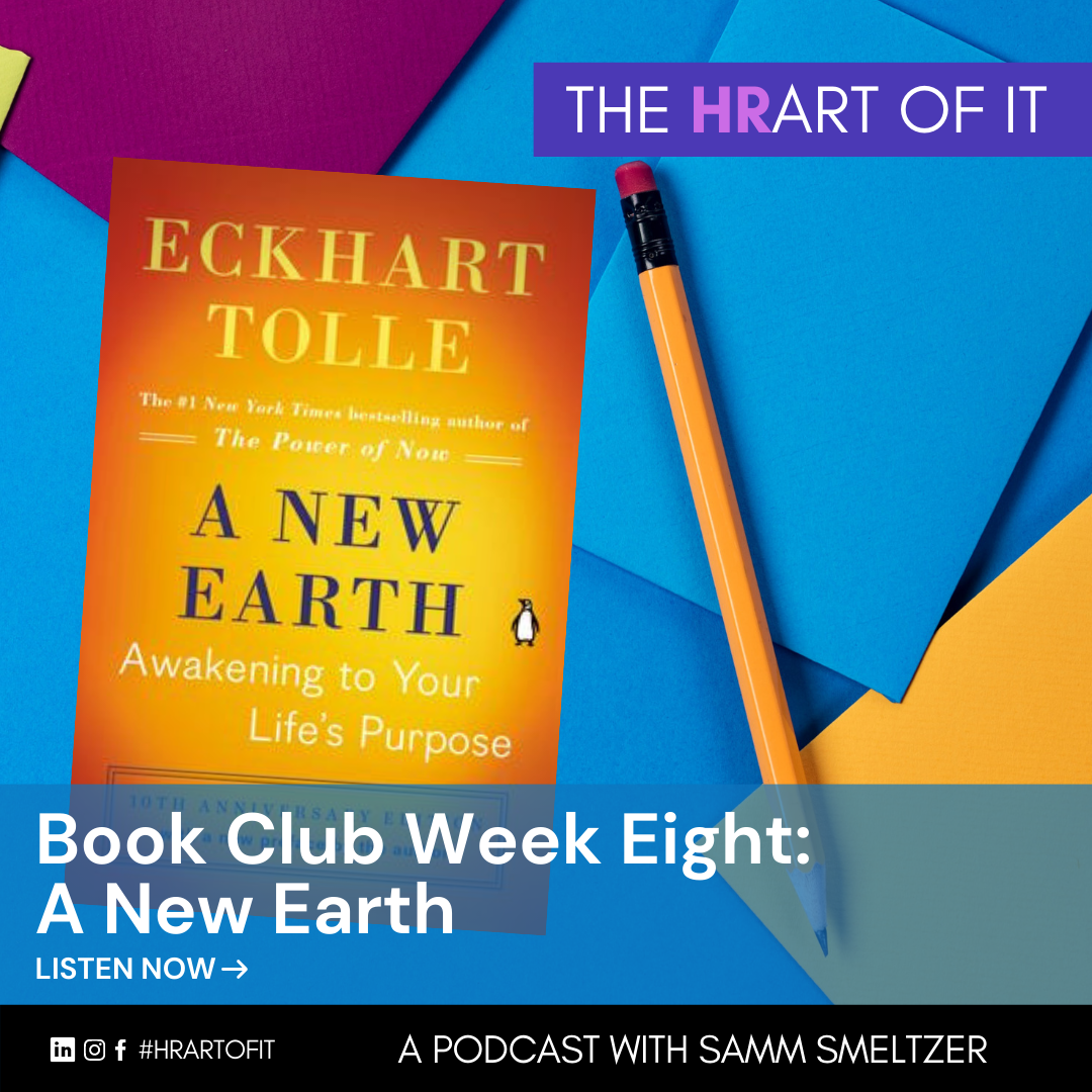 Book Club Episode A New Earth by Eckhart Tolle
