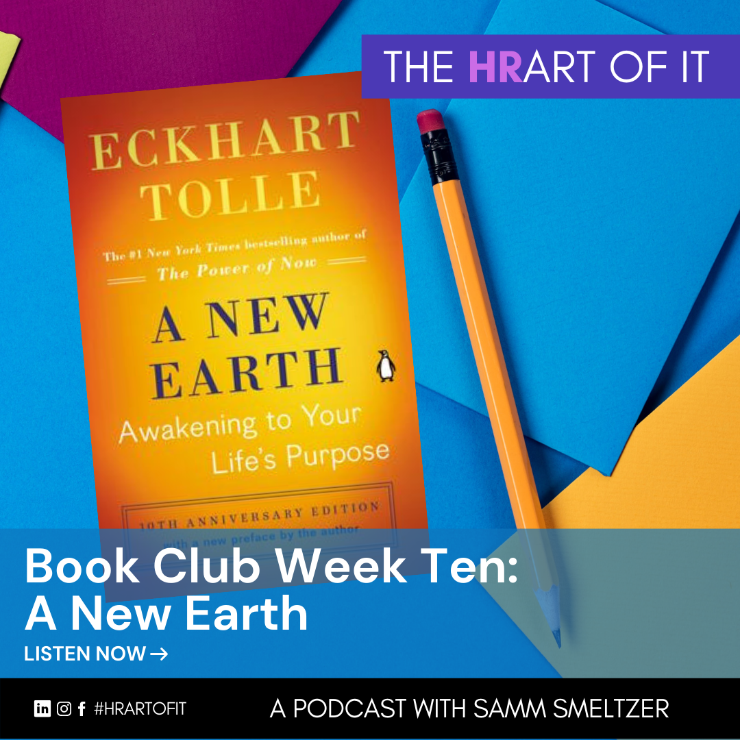 A New Earth by Eckhart Tolle Book Club episode