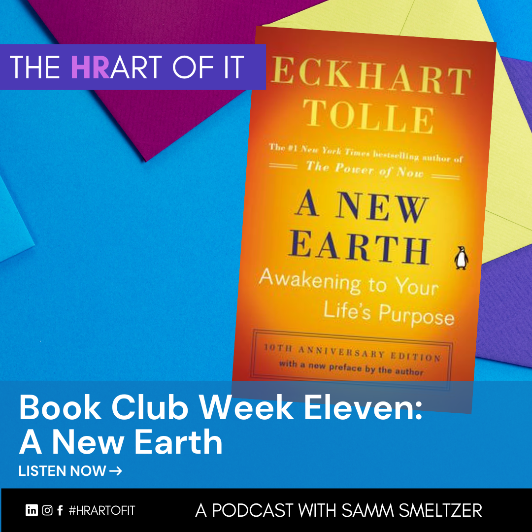 Book Club Week Eleven: A New Earth by Eckhart Tolle