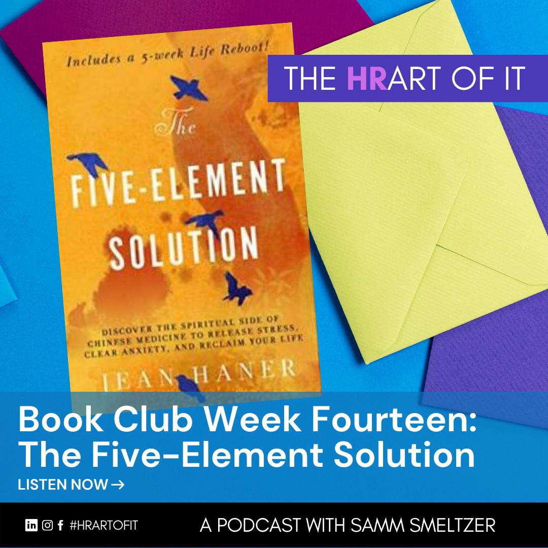 Book Club Week Fourteen: Five-Element Solution by Jean Haner