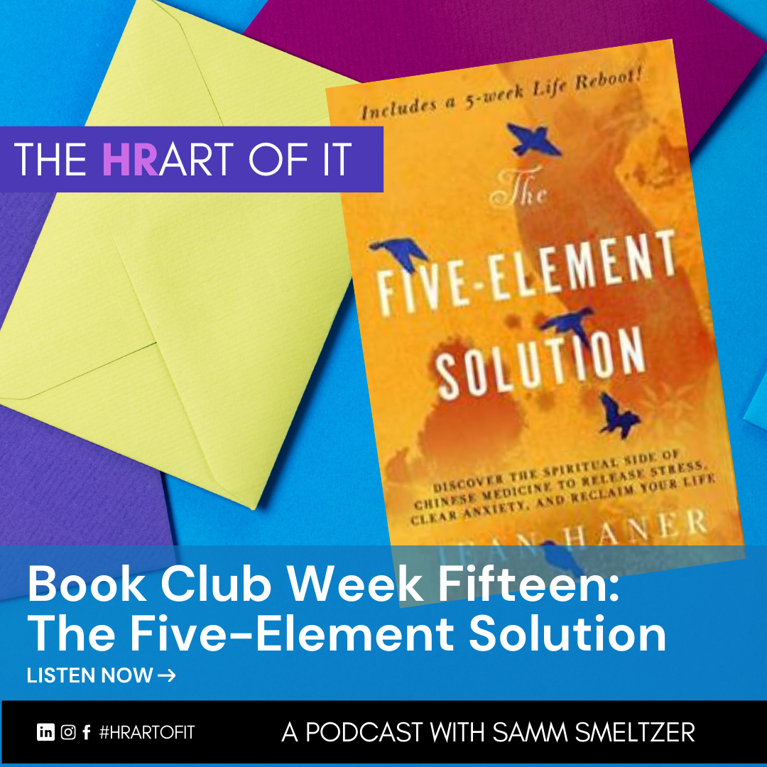 Book Club Week Fifteen: Five-Element Solution by Jean Haner