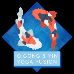 Qigong & Yin Yoga Fusion Class / August 27 at 7 PM